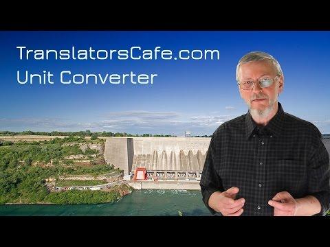 TranslatorsCafe.com Online Unit Converter