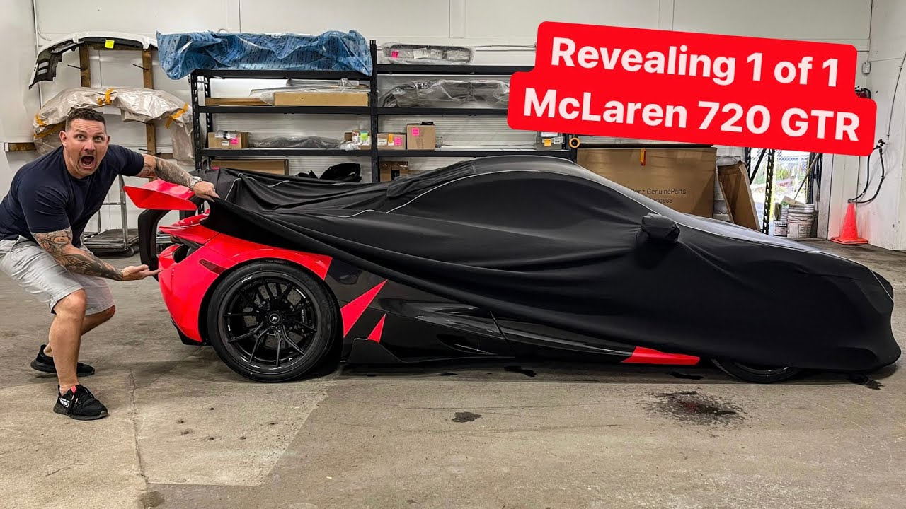 INTRODUCING MY NEW MCLAREN 720 GTR TO THE SUPERCAR COLLECTION!