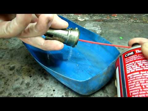 Ignition Lock Cylinder Cleaning