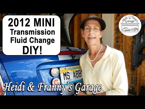 MINI Cooper Transmission Oil Change (Roadster R59)  - How To DIY!