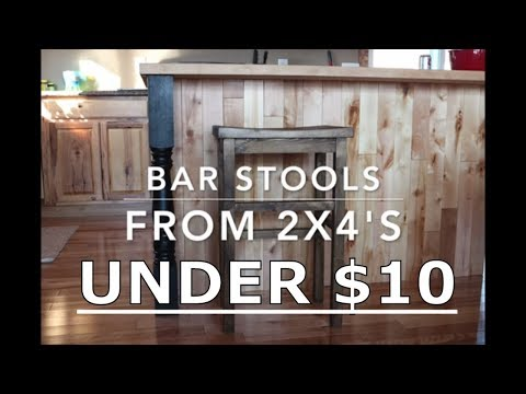 DIY BAR STOOL (with plans)