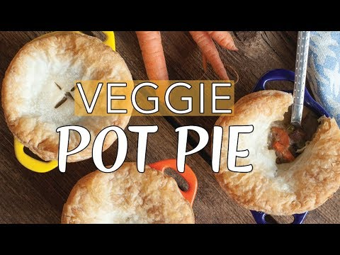 VEGAN POT PIE | Vegan Chicken Pot Pie | The Edgy Veg