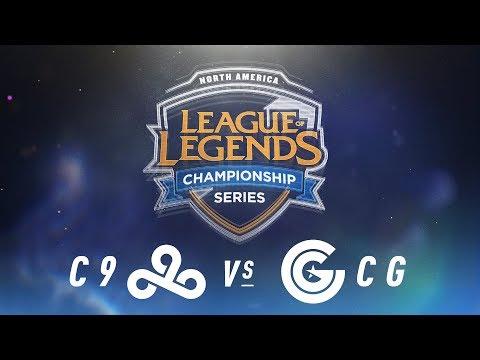 C9 vs. CG - Week 9 Day 2 | NA LCS Spring Split | Cloud9 vs. Clutch Gaming (2018) Tiebreaker