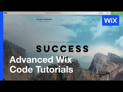 Wix Code | How to Create a Frozen Header That Changes as Visitors Scroll