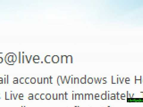 how to close a windows live hotmail account