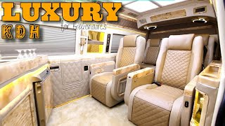 Luxury KDH hiace van for billionaires business life people - high technology - music - SCREENSHOTZ