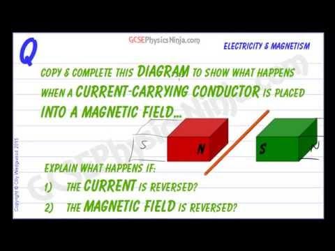 The Motor Effect Example - GCSE Physics