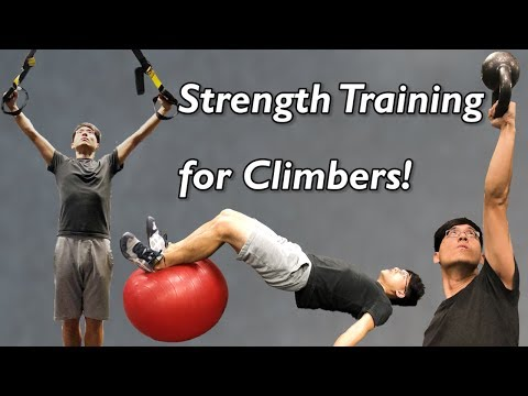 3 Off-the-Wall Strength Training Exercises for Rock Climbers