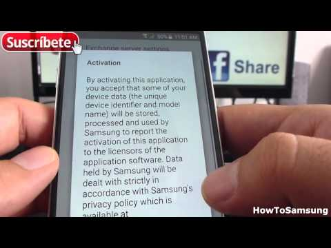 How to Add a Hotmail Account to Samsung Galaxy S6 Basic Tutorials