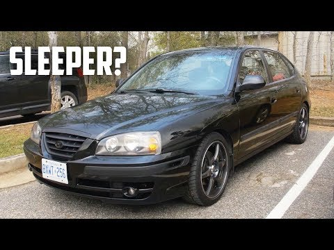 Is the Hyundai Elantra Just a Tiburon in Disguise? - Modified Elantra Review!