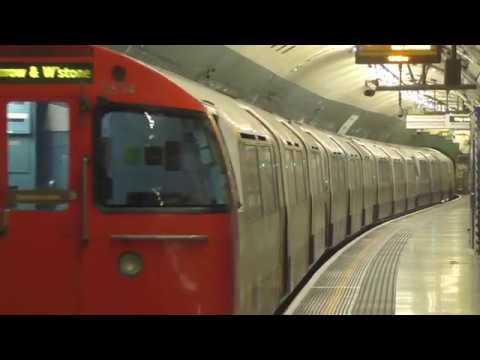 London Underground The Tube at Paddington August 2016