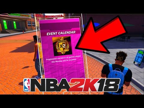 Ronnie2k CONFIRMS Double Rep For THIS Monday! How To Rep Up 2X FASTER In NBA 2K18!