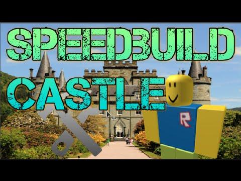Roblox Studio | Speedbuild | Castle