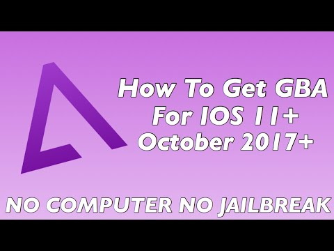 How To Download GBA Games On IOS 11 (No Jailbreak)(No Computer)(2017)