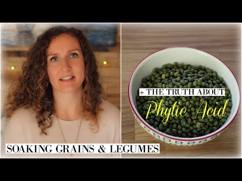 Soaking Grains & Legumes + The Truth About Phytic Acid