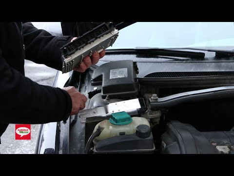 Volvo Engine Control Module ECM Removal Procedure for S80, S60, S70, V70, XC70, XC90, C70