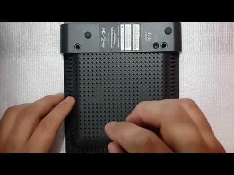 Como desarmar un Router Linksys E900/E1200/E1500/E2500/E3200