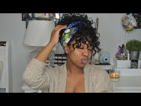 HOW TO FINESSE A  CURLY HALF WIG PT. 4 | AFFORDABLE AND EASY SLAY