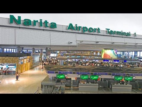 Narita International Airport - Tokyo 4K
