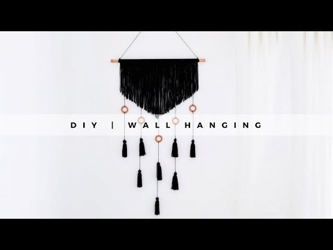 DIY Decor | Yarn Wall Hanging
