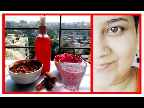 Medicated Rose Water गोरी त्वचा पाने के, SPOTLESS FLAWLESS and Acne Free SKIN in 3 Days, Dr Shalini,