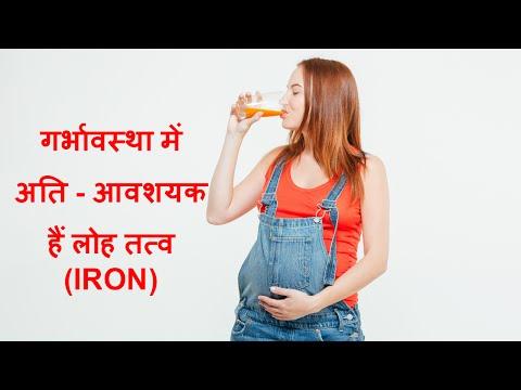 Importance of iron during pregnancy/ गर्भावस्था में आवश्यक है लोह तत्व (Iron)