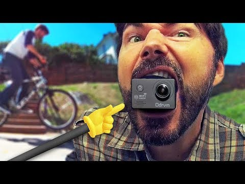 REVIEW ODRVM 1080p WiFi Action Camera UNDER $60 - Knoptop