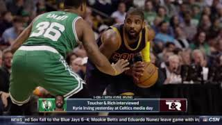 Kyrie Irving on the flat Earth, again: