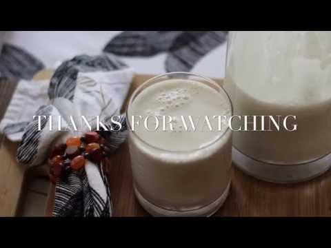 How to Make Hemp Seed Milk | Vegan Recipe by: What Chelsea Eats