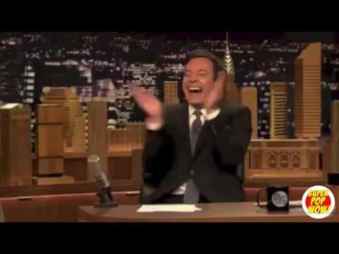 Jimmy Fallon Laughing Super Cut!