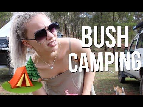 VLOGMAS DAY 16 // Beauty Guru Goes Bush Camping