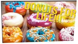 Kind Girl Receives Donuts For Life With This Simple Act! ft. DavidSoComedy