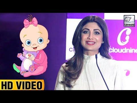 Shilpa Shetty Announces Her Second Baby Watch Video   LehrenTV