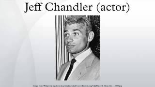 Jeff Chandler (actor)