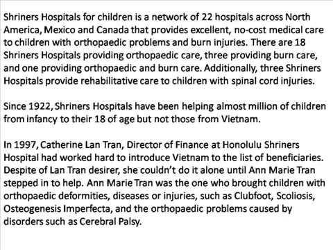 Vietnam Rehabilitation Connection VNRC