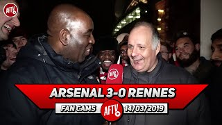 Arsenal 3-0 Rennes | Let