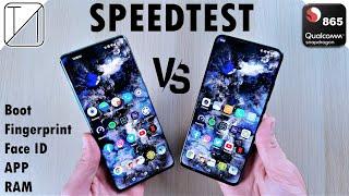 OnePlus 8 Pro vs Redmi K30 Pro (a.k.a. Poco F2 Pro) Speed Test
