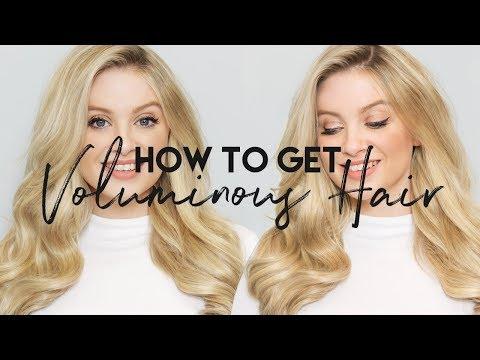 How To: Get Voluminous Hair | Milk + Blush Hair Extensions