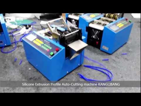 Silicone rubber gaskets silicone profiles  automatic cutting machines
