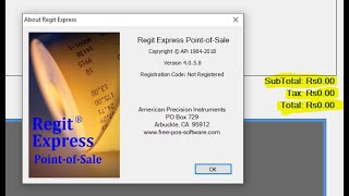 How to Change Currency for Regit Express in Windows | Music Jinni