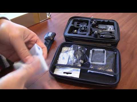 Unboxing Review of OTHA 4K Wifi Waterproof Action Camera, a low cost GoPro alternative