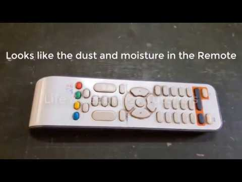 FIX-Any TV Remote Dust and Moisture Cleaning