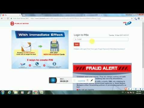 How to Pay PTPTN Via Online Banking 纯属分享:如何online缴付PTPTN贷学金