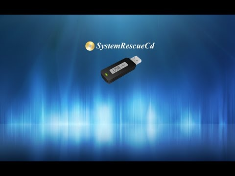 How to create Bootable USB for System Rescue Disk (UEFI and Legacy Compatible) (In Windows 7/8/10)