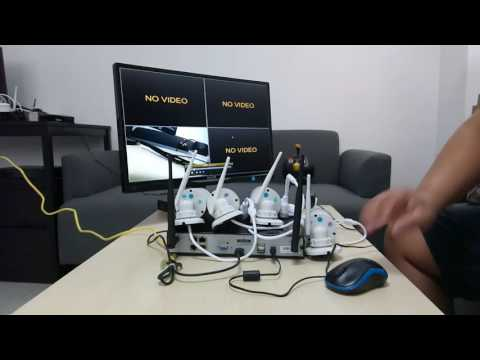 Basic Tutorial   How to setup xmartO wireless security system