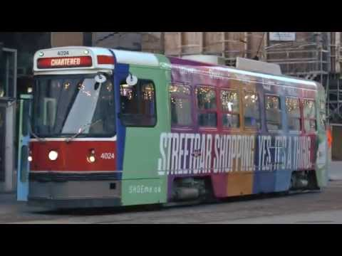 Streetcar shopping. Yes, it's a thing. PayPal Holiday Streetcar Takeover