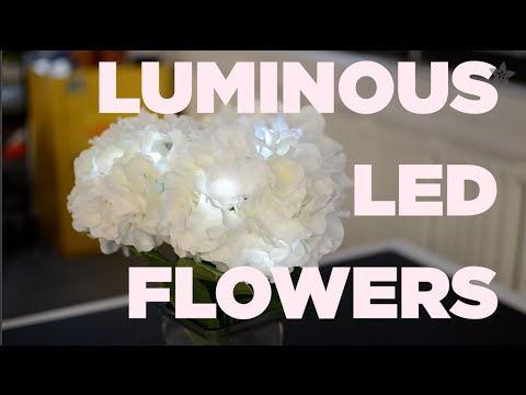 Luminous LED Flowers for Mother's Day or Prom