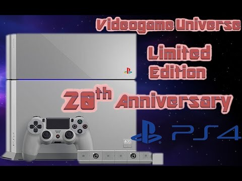 Playstation 4 20th Anniversary Limited Edition Console!