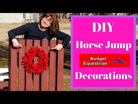 DIY Horse Jump Decorations (So Easy!)