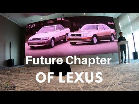 2019 Lexus ES presentation by Chief Engineer, Yasuhiro Sakakibara